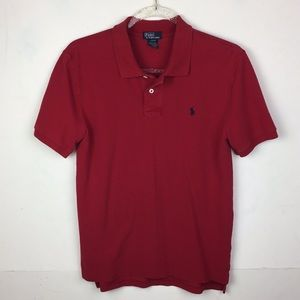 Polo by Ralph Lauren Boys Red Polo Short Sleeve